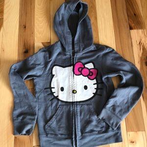 🎉🎉4 for 20🎉🎉Hello Kitty hooded sweatshirt M